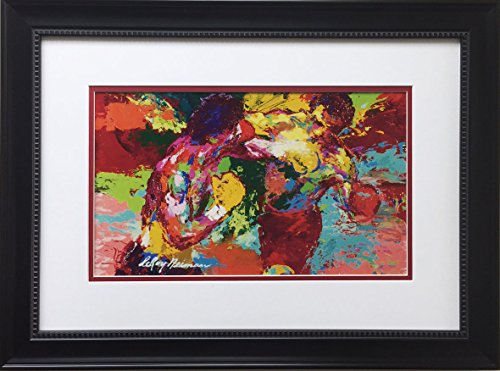 Gallery Gems Leroy Neiman - Rocky The Knockout Custom Framed Lithograph -