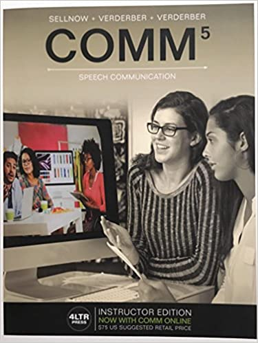 COMM Book Only 9781337406710 Business Communication