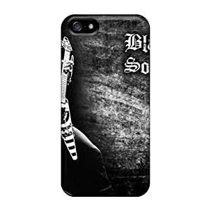 Rugged Skin Cases Covers For Iphone 5/5s- Eco-friendly Packaging(black Label Society)