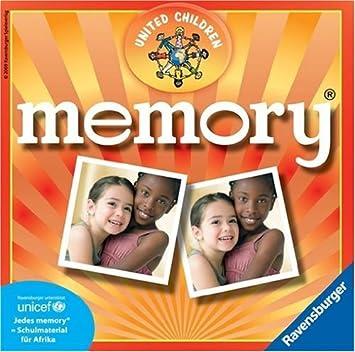 Ravensburger 21985 Memory United Children Unicef- Juego de mesa [Importado de Alemania]
