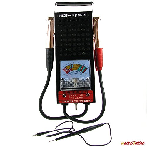 8 Volt Battery Load Tester : Volts battery load charging tester charger tool