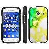 Bokha Rasta - Mobiflare Samsung Galaxy Ace Touch3 Jitterbug Stardust S765C Slim Guard Armor Black Phone Case
