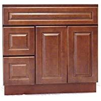 NGY Chestnut Chocolate 36 Vanity Cabinet Maple Wood CC-3621DL