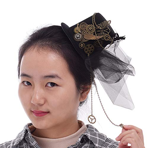 Best steampunk hat and veil