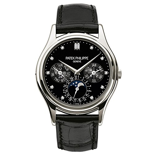 Patek Philippe Grand Complications Moonphase 37mm Platinum Watch 5140P-013
