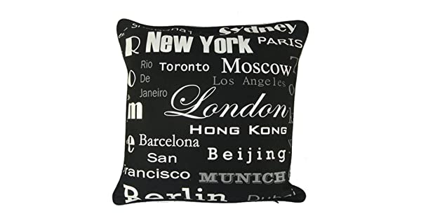 Amazon.com: Nava Negro Nueva York Barcelona Hong Kong París ...