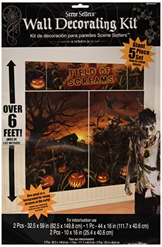Field Of Screams Scene Setters | Halloween Decorating Kit -