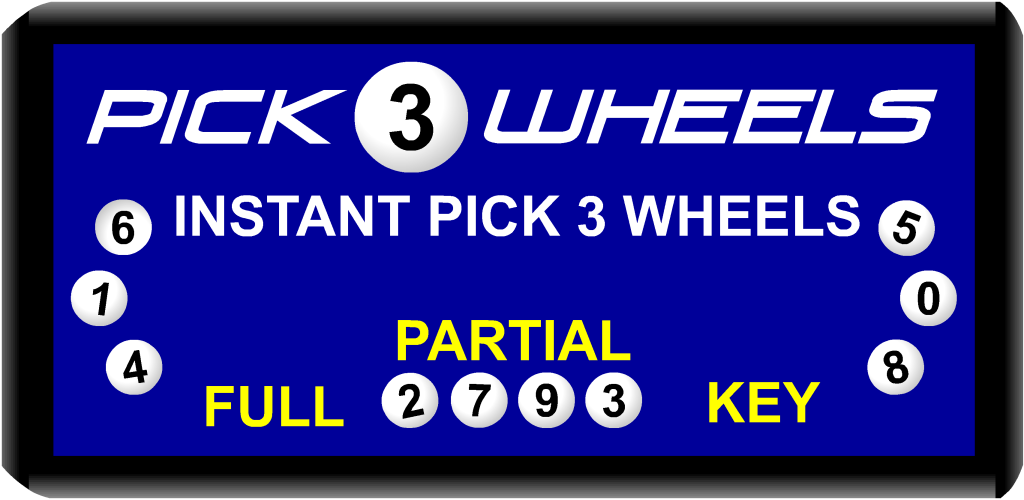 Lottery Wheels Pick 3 Daily Number Wheel Generator - Import It All