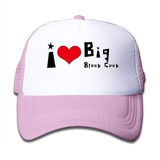 42e12ae9fcb5f I Love Big Black Cock Boy & Girl Baseball Caps Mesh Hats Printing ...