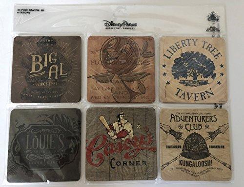 Disney Parks Twenty Eight & Main Coaster (Tavern Coasters)