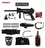 MAddog Tippmann A5 A-5 w/Response Trigger Specialist HPA Paintball Gun...
