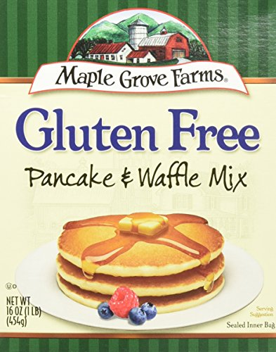 Maple Grove Farms All Natural Gluten Free Pancake & Waffle Mix -