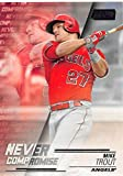 #8: 2018 Stadium Club Never Compromise #NC-MT Mike Trout Angels Baseball