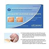 Aroamas Professional Silicone Scar Sheets, Soften