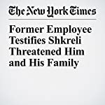 Former Employee Testifies Shkreli Threatened Him and His Family | Stephanie Clifford
