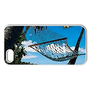 Montego Bay, Jamaica - Case Cover for iPhone 5 and 5S (Beaches Series, Watercolor style, White)