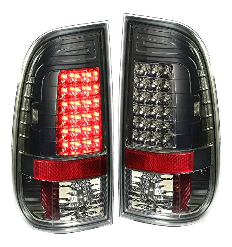 DNAMotoring TL-LED-F15097-SM Tail Light Assembly, Driver and Passenger Side