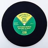 Vintage Vinyl Record Beverage Coaster Set of 5