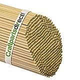 Wooden Dowel Rods - 3/16'' x 36'' Unfinished Hardwood Sticks - For Crafts and DIY'ers - Craftparts Direct - Bag of 1000