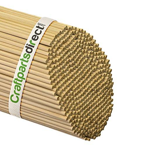 Wooden Dowel Rods - 3/16