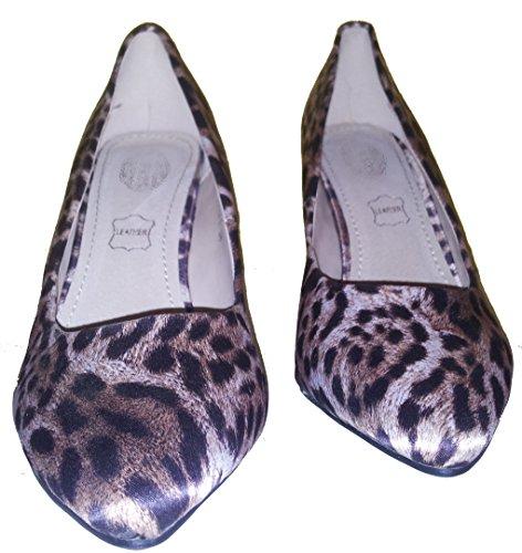 3-W-Hohenlimburg Stiletto Pumps High Heels. Leoparden-Look. Farben: Klassisch - Leopard, Grau oder Blau, Damenschuhe, PHH121, Schuh für Damen. Topmodischer Luxusschuh Zum Auffallen. Leopard klassisch