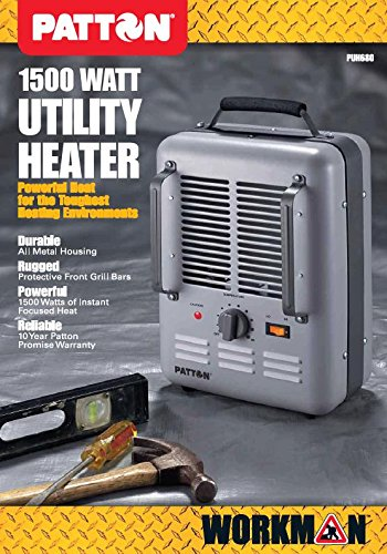 51tBDJ9q83L amazon com patton puh680 n u milk house utility heater home Patton Heater Recall at crackthecode.co