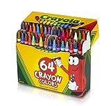 Crayola Crayons Box,64 Count (Case of 48)