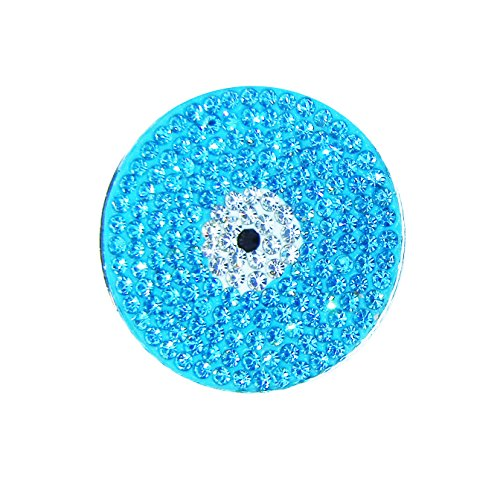 Navika Evil Eye Micro Pave Crystal Ball Marker with Hat Clip - Mod Evil Eyes