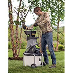 Gardener's Supply Company Earthwise Wood Chipper & Leaf Shredder