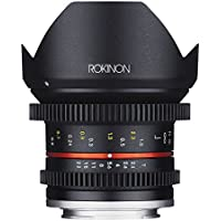 Rokinon CV12M-E Cine 12mm T2.2 Cine Fixed Lens for Sony E-Mount and Other Cameras (Certified Refurbished)