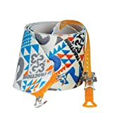 G3 Alpinist High Traction Skins - 130mm / Long - Blue/Grey/Orange