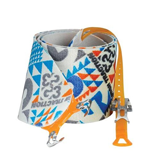 G3 Alpinist High Traction Skins - 130mm / Long - Blue/Grey/Orange by G3 GENUINE GUIDE GEAR