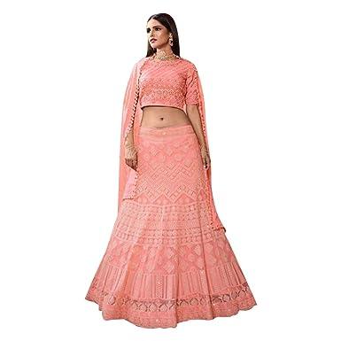 8715 Bridal Lehenga Choli Chaniya Dupatta Skirt Falda Set Indian ...
