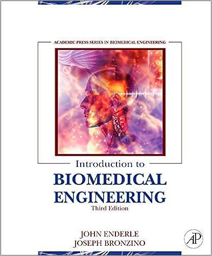 Introduction To Biomedical Engineering 9780123749796 Medicine Health Science Books Amazon Com