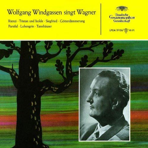 Wolfgang Windgassen Singt Wagner - Windgassen, W., Kraus, Leitner, Ludwig,  Bams, Mp, Dsob, Wagner, Richard: Amazon.de: Musik