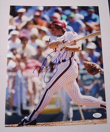 Mike Schmidt Autographed Signature Philadelphia Phillies 11x14 Photo With JSA COA