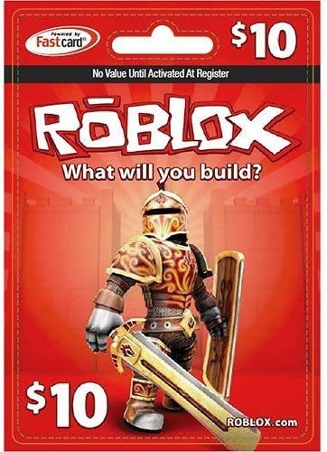 Amazoncom Roblox Roblox 10 Game Card Video Games