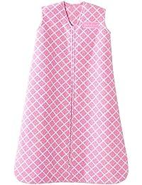 Pink Geometric Sleepsack Wearable Baby Blanket,...