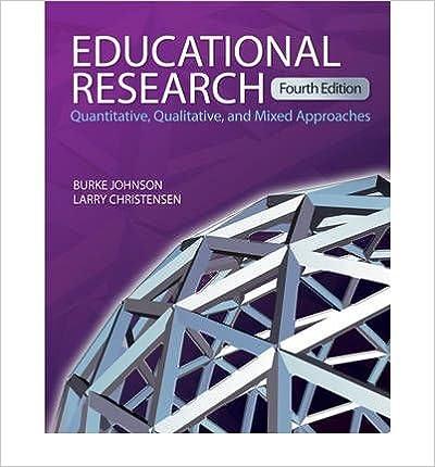 Bundle: johnson: educational research, 3e + machi: the literature.