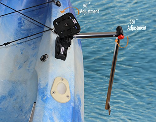 Brocraft Transducer Arm Mount + Universal Fishfinder (Eagle Sonar Gps)