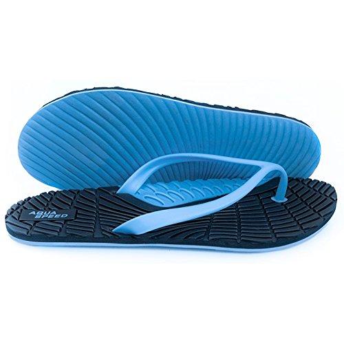 infradito Blu Aqua Bahama speed Donna Da Spiaggia Navyblau Scarpe spiaggia blau xAYSFqw