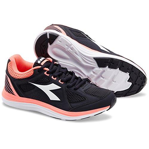 C7285 Diadora CORALLO Zapatillas 2 Mujer NERO de Running Heron W para qqfrxFw8