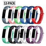 for Fitbit Alta HR and Alta Bands, Soulen Silicone Adjustable Replacement Sport Strap Bands for Fitbit Alta and Fitbit Alta HR