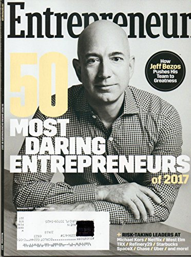 RISK-TAKING LEADERS AT STARBUCKS/SpaceX/ & UBER. Entrepreneur Magazine 2017 RICHARD BRANSON PURSUES HIS PURPOSE Inside WeWork The Coworking Powerhouse Workspace MICHAEL KORS Netflix