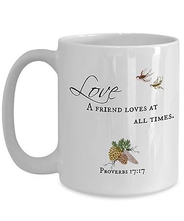 photo relating to Printable Mugs called  SAYOMEN - Proverbs Printable, A good friend enjoys at