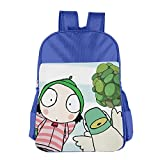 Kids Sarah & Duck School Backpack Cool Style Boys Girls School Bag