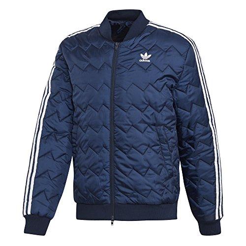 Hombre Adidas Chaqueta Sst Marino Azul Quilted qpSFvnw4