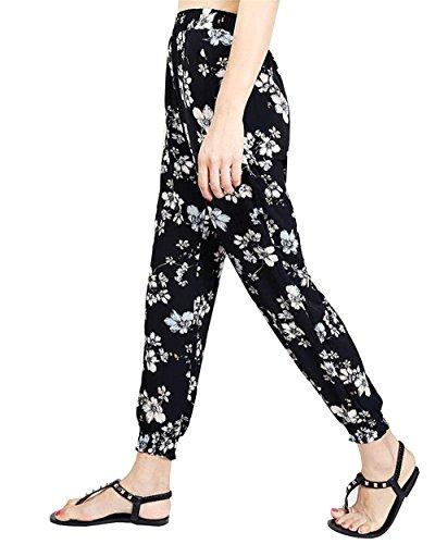 Hippie Imprimé Pluderhose 2 Vintage Dame Modèle Fashion Elégante Battercake De Colour Élastique Ete Loisirs Haute Sarouel Large Pantalon Femme Casual Taille waUpxXFq