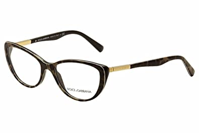 Amazon.com: Dolce & Gabbana DG3155 Eyeglasses-1995 Animalier ...