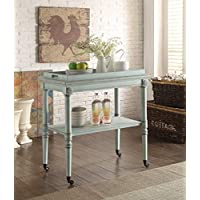HomeRoots Furniture 286343-OT Tables, Multicolor